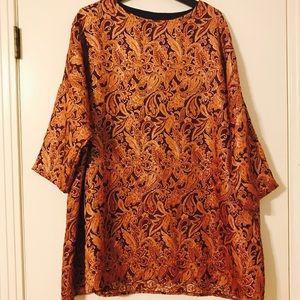 Urban Outfitters Renewal Brocade Shift Dress